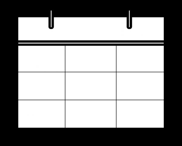 リング付きカレンダーアイコン