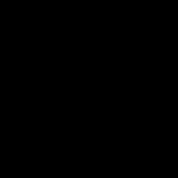女性シルエットのユーザーアイコン 黒