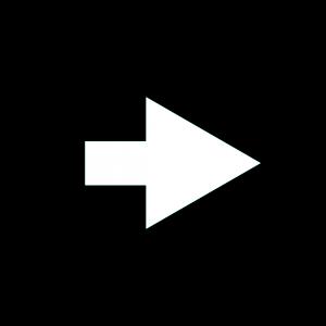 楕円形矢印アイコン1種類目黒