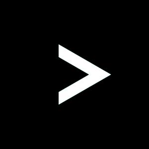 楕円形矢印アイコン2種類目黒