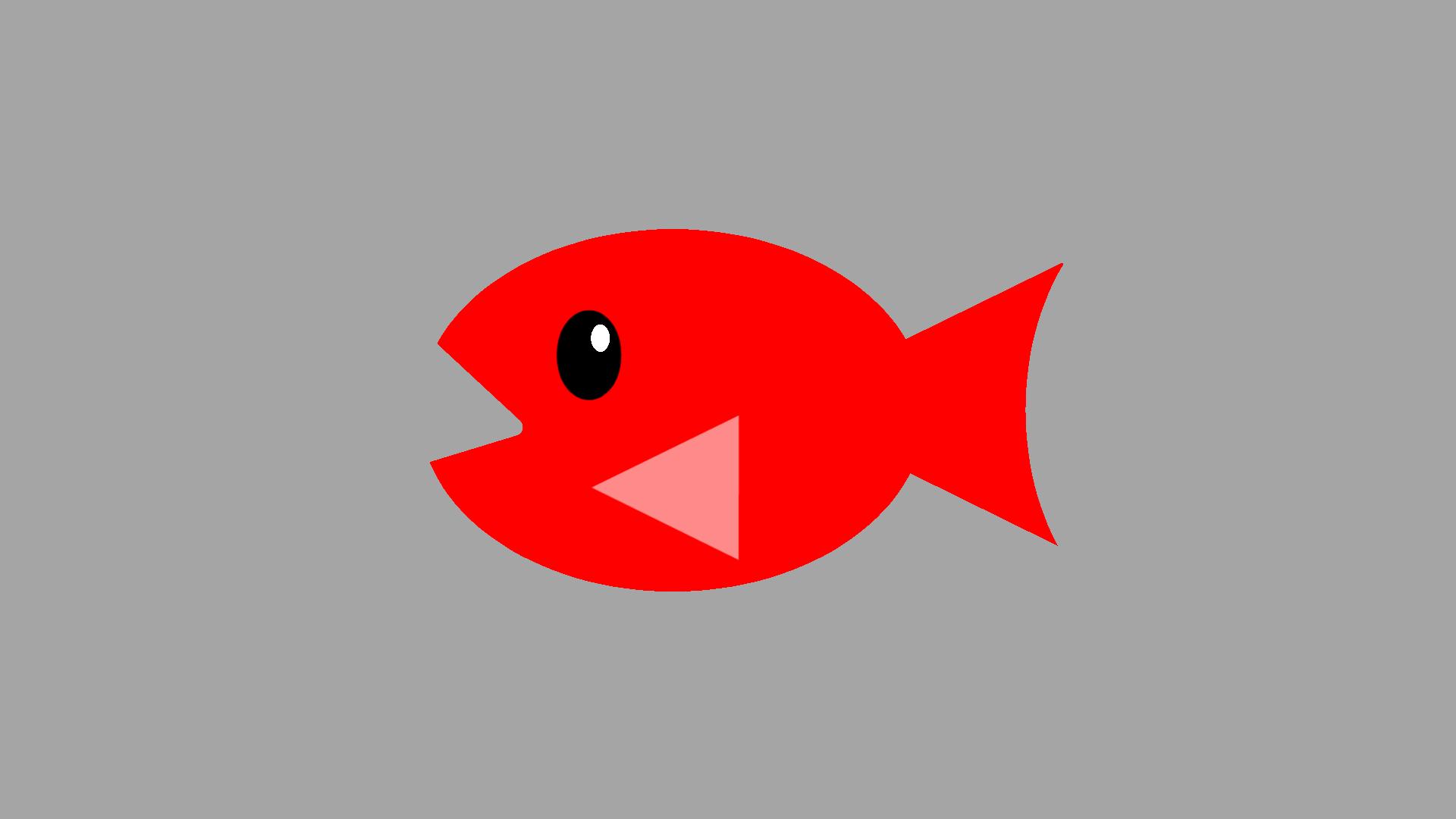 お魚のイラスト3種類「単色塗りカラー・グラデーションカラー各8色」全48
