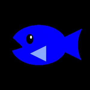 1種類目単色塗り青
